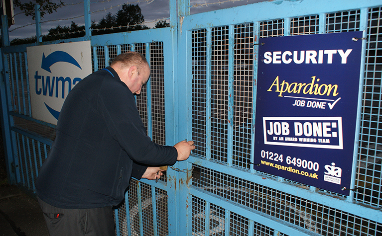 Aberdeen Security - Facilities Management | Security - Apardion