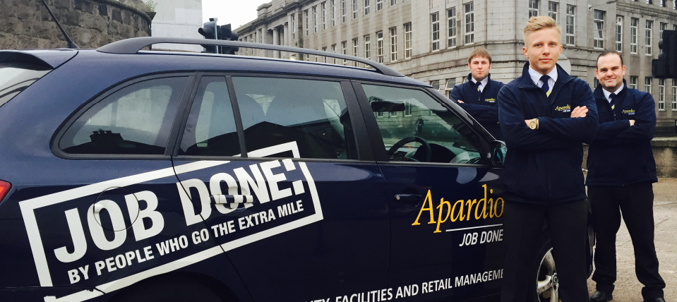 Aberdeen Security - Facilities Management | Manned Guarding - Apardion