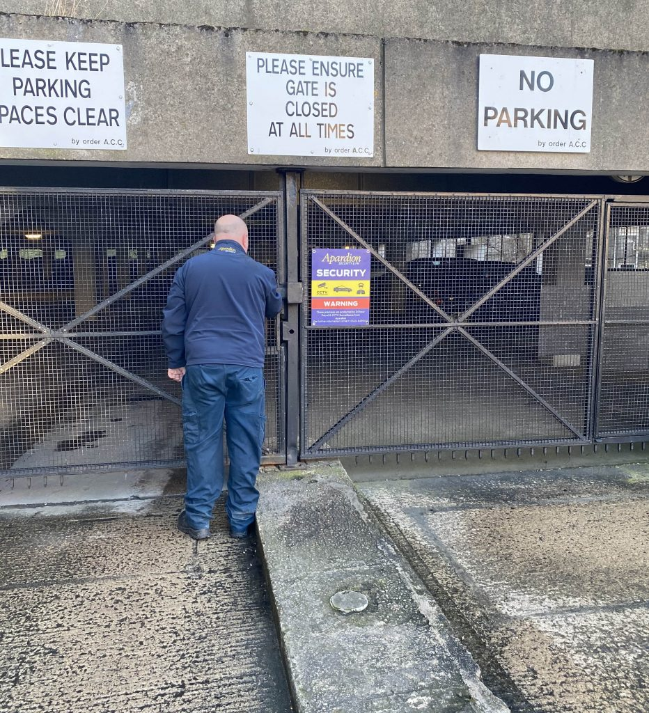 Aberdeen Security - Facilities Management   Building access - Apardion