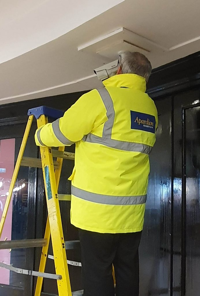 Aberdeen Security - Facilities Management | CCTV - Apardion