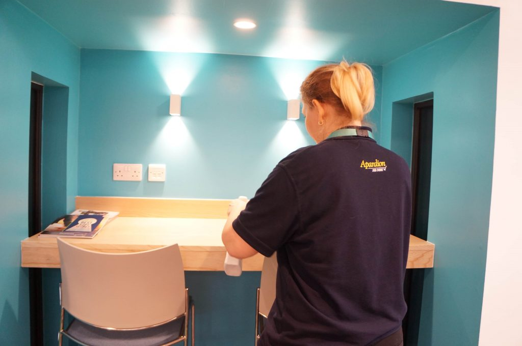 Aberdeen Security - Facilities Management | Deep Cleaning - Apardion