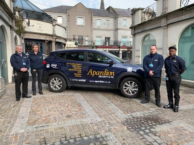 Aberdeen Security - Facilities Management | Accommodation & Security - Apardion