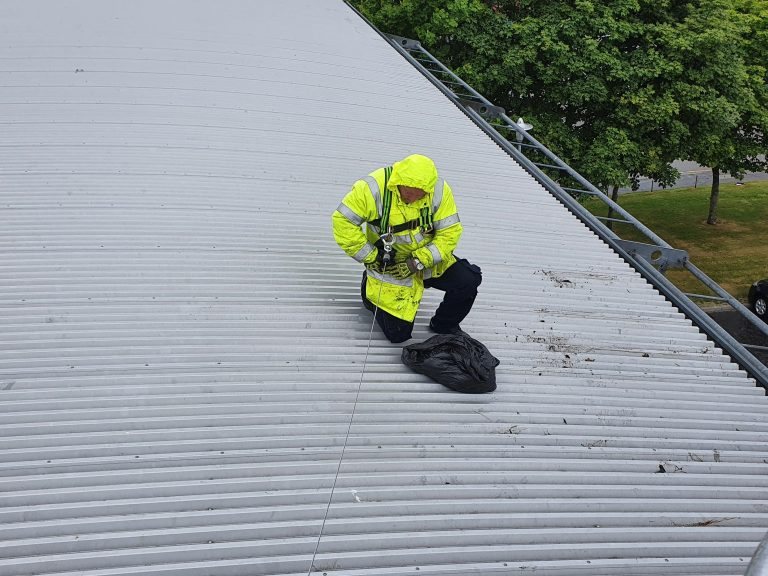 Aberdeen Security - Facilities Management | Gutter Cleaning - Apardion