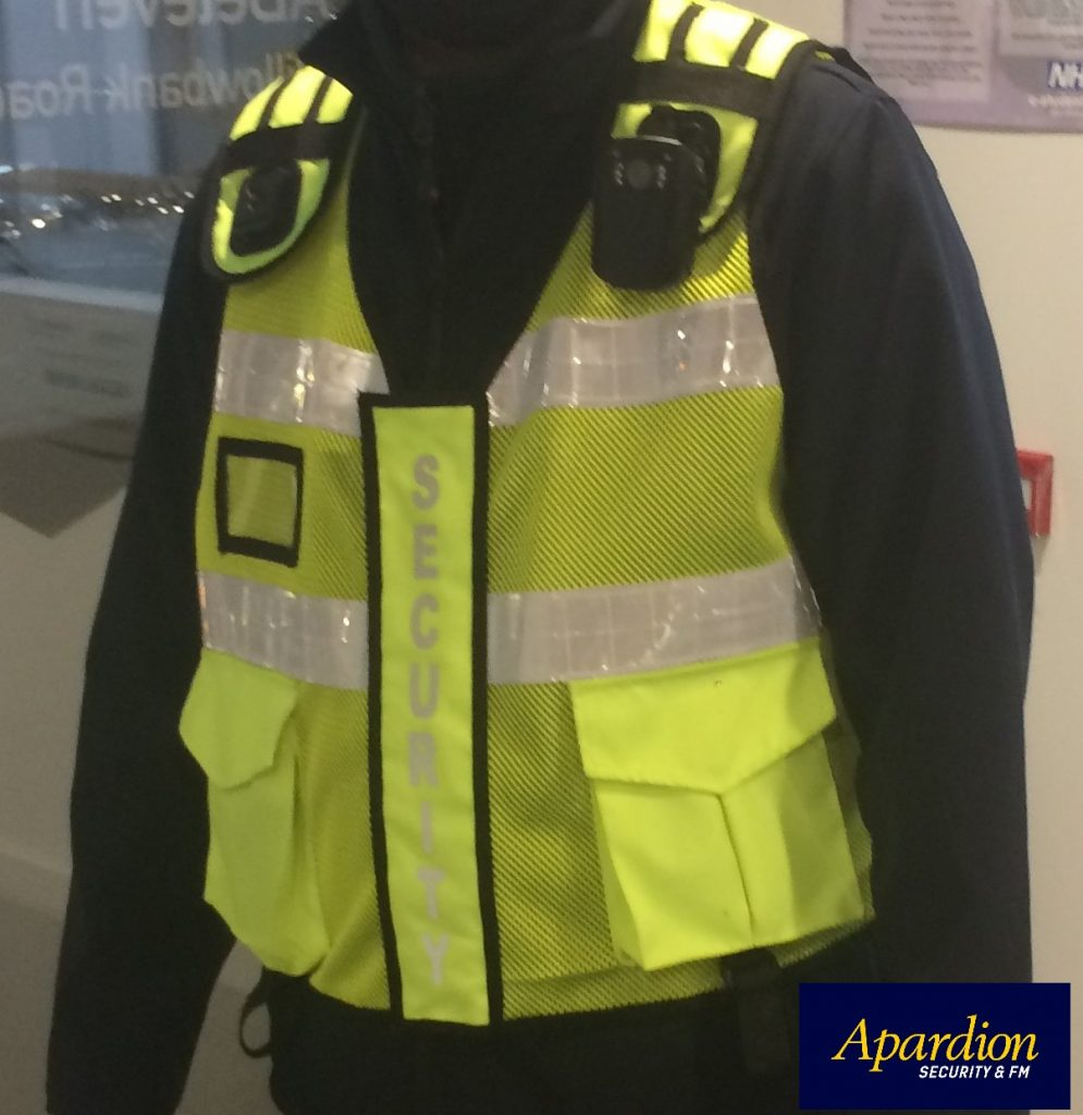 Aberdeen Security - Facilities Management | Apardion Body Worn Cameras - Apardion