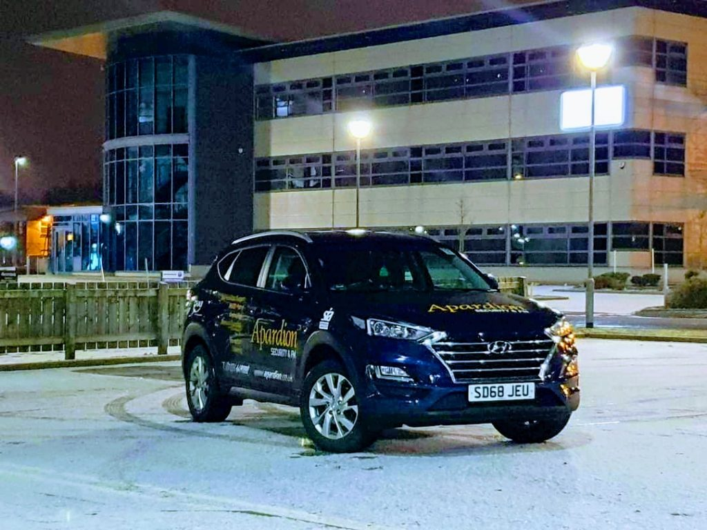 Aberdeen Security - Facilities Management | APARDION MOBILE PATROL SERVICES - Apardion