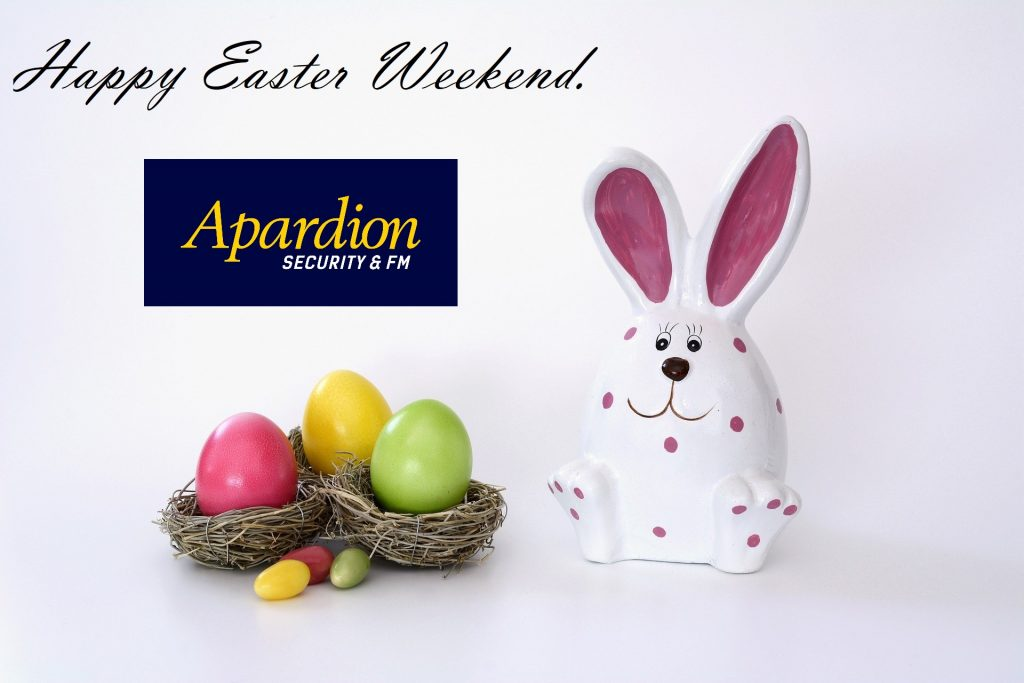 Aberdeen Security - Facilities Management | Happy Easter from Apardion Team - Apardion